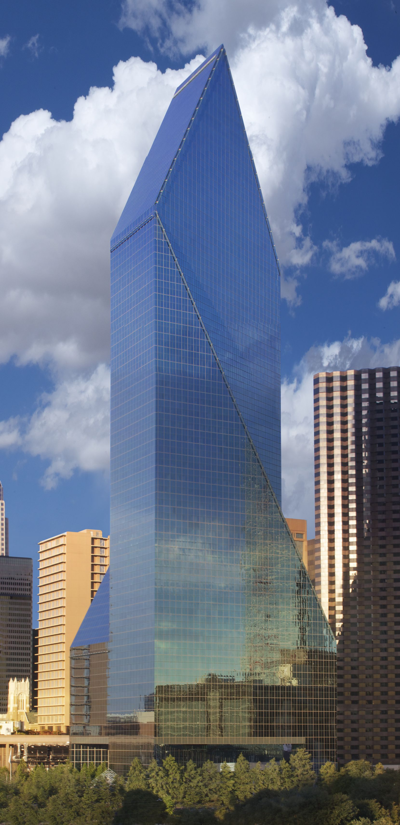 Tenet Healthcare has been located in downtown's Fountain Place tower for the last decade.