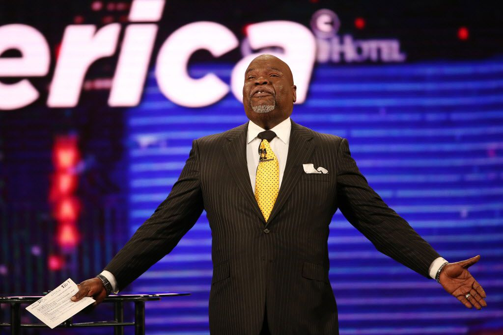 Bishop T.D. Jakes leads services at The Potter's House.