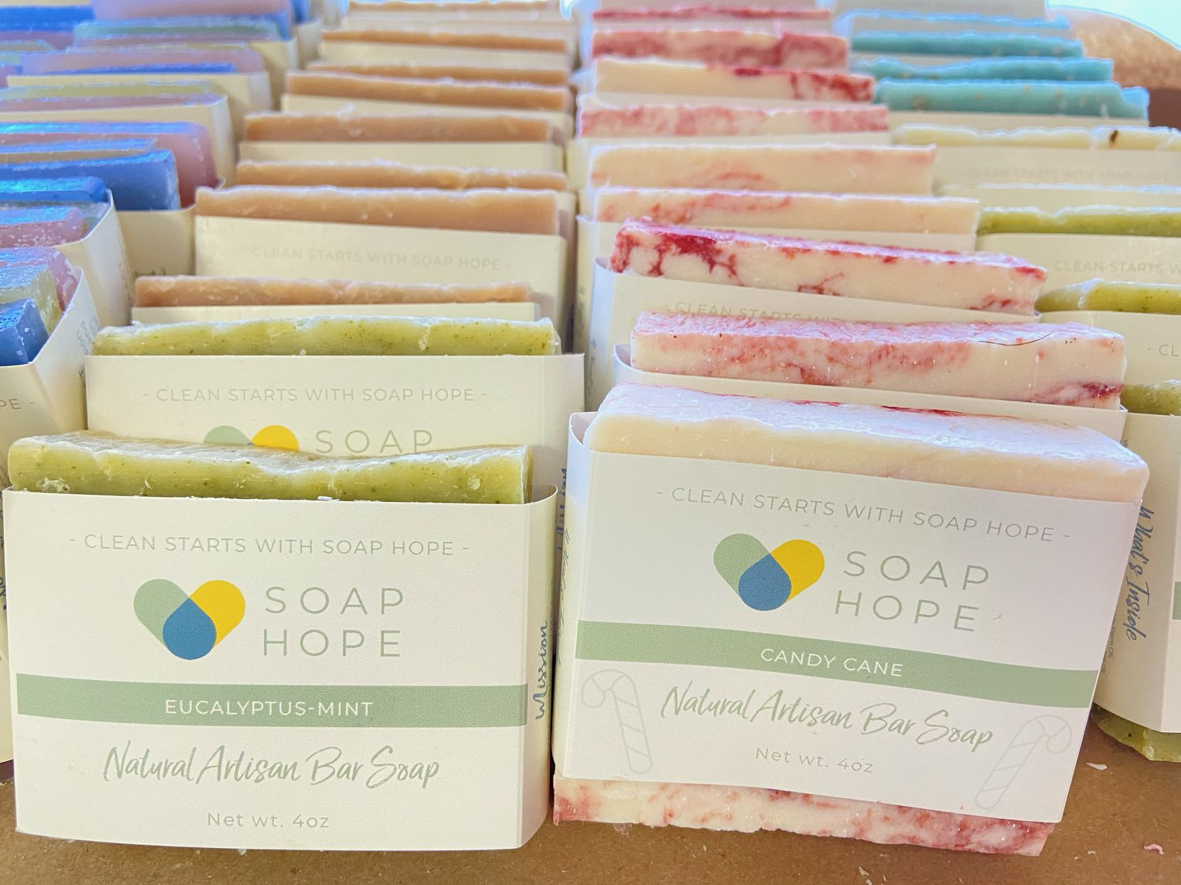 Soap Hope, a for-profit Plano business operated by nonprofit My Possibilities, hires disabled adults for its fulfillment team.