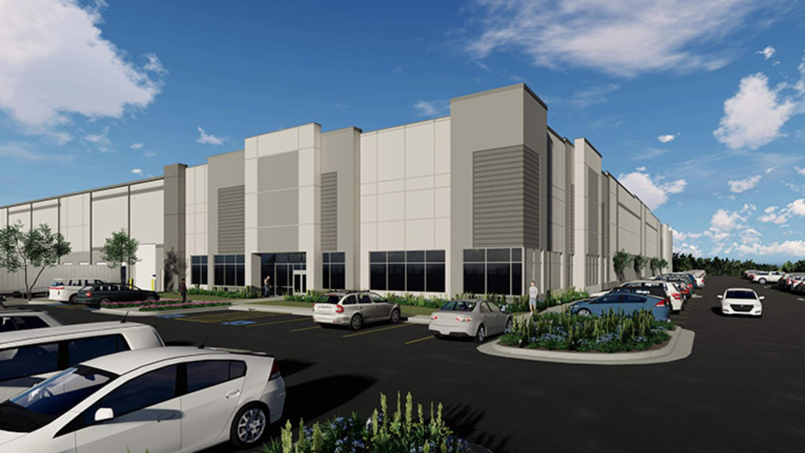 Dalfen Industrial's warehouse project is near I-635.