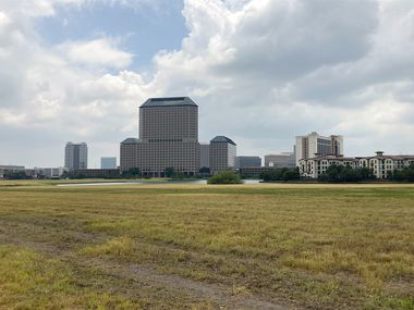 Wells Fargo is looking at a large vacant property in Las Colinas that's near the Irving Convention Center.