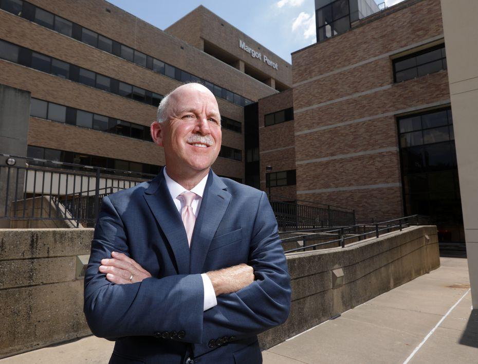 Jim Parobek, president of Texas Health Presbyterian Hospital Dallas.