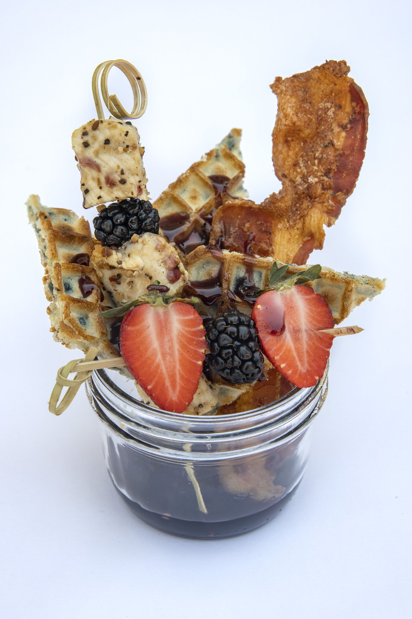 The Blackberry Chicken and Waffles jar