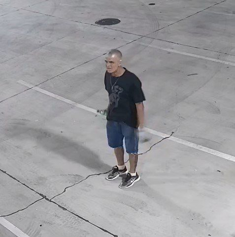 Surveillance footage shows one of two people police are seeking in connection with a restaurant burglary in Pleasant Grove on June 10.