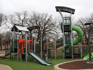 Irving recently unveiled a revamped West Park that features areas designed for children with special needs.