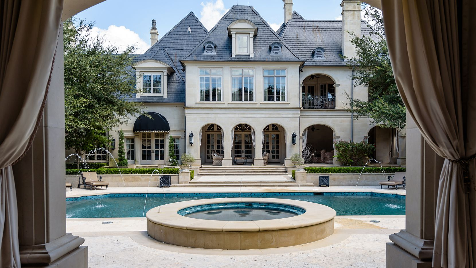 The 10-bedroom home at 10711 Strait Lane in North Dallas has 37,000 square feet.