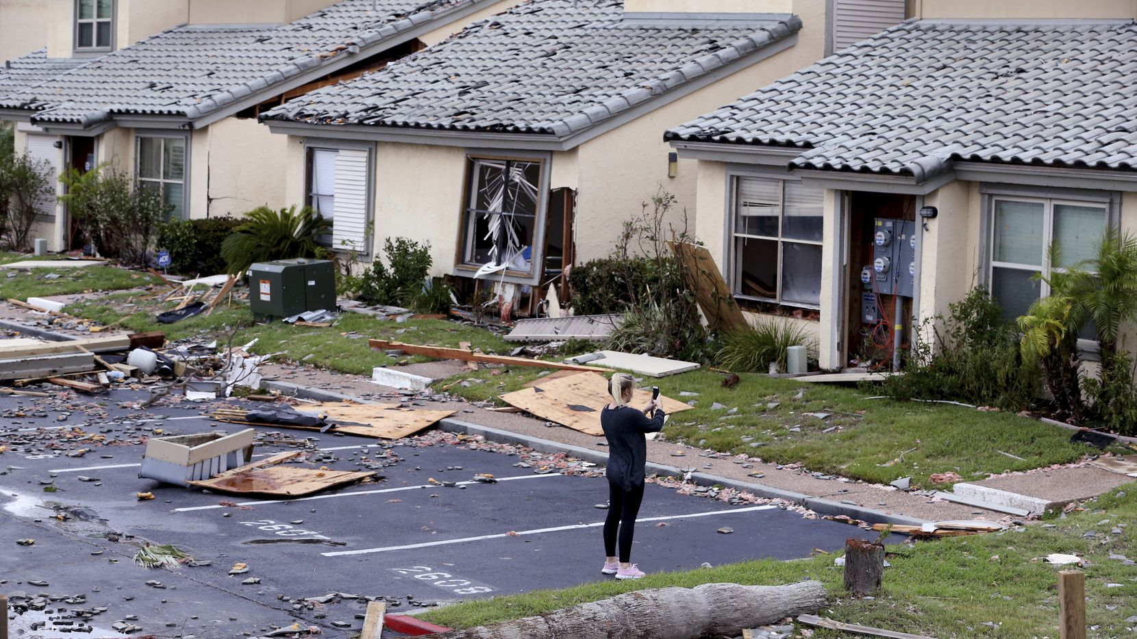 Wrecked condos in Rockport are among the thousands of South Texas residential properties that will have to be repaired or rebuilt.