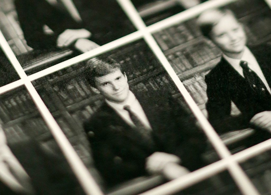 Richard Spencer in his eighth-grade photo from the St. Mark's School of Texas