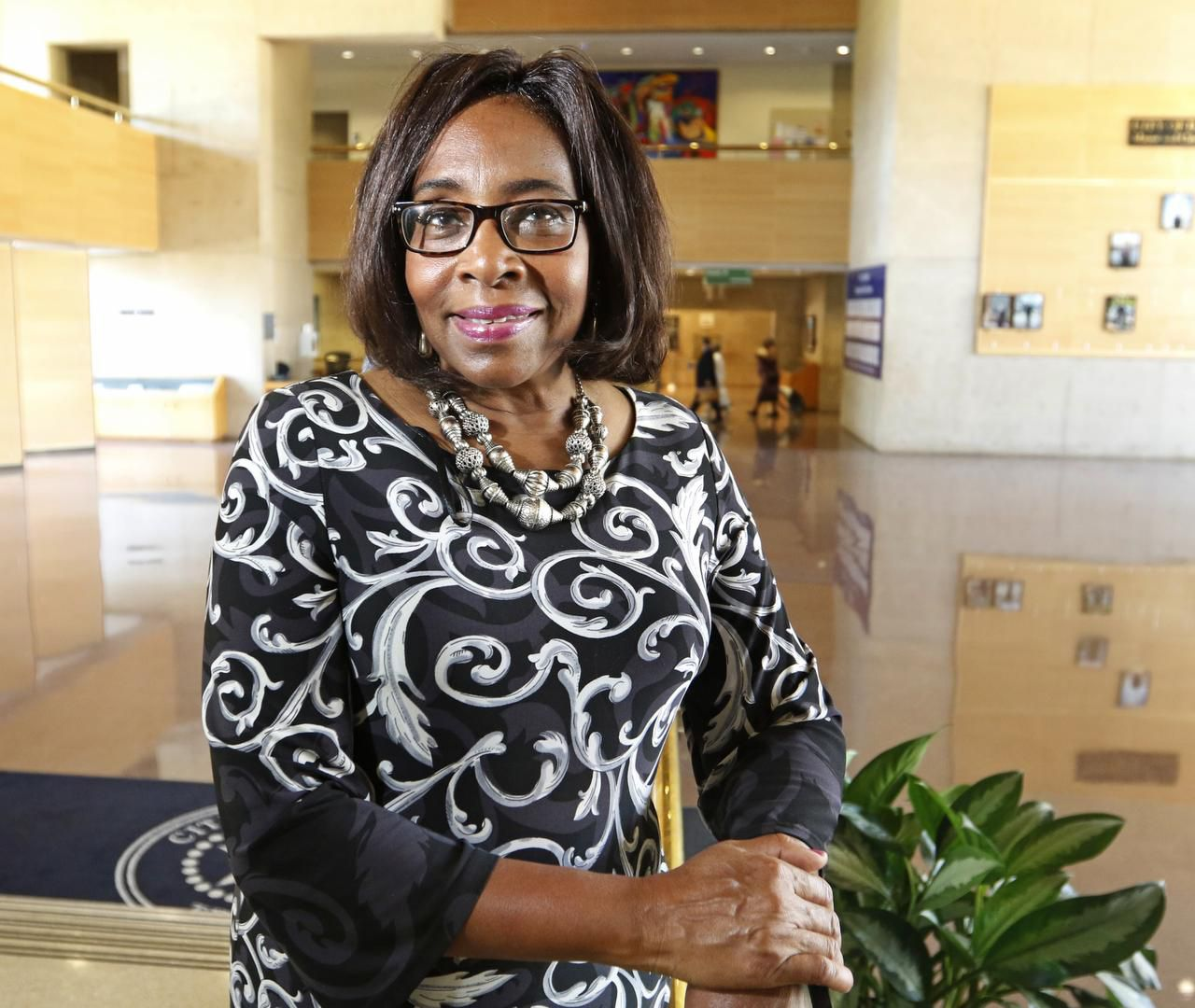 Educator Carolyn King Arnold  replaced Dwaine Caraway on the City Council in Oak Cliff's District 4.