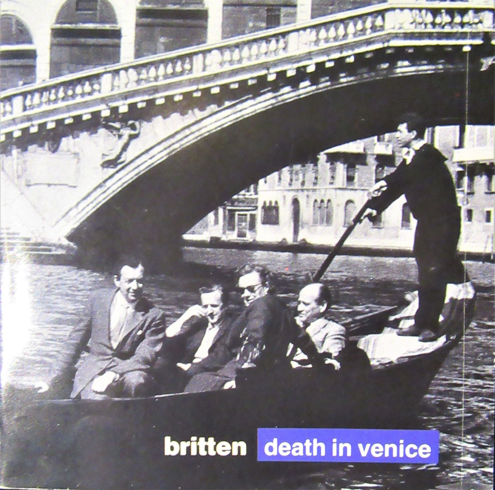 "Benjamin Britten's ""Death in Venice"" is presented in a Decca CD set."