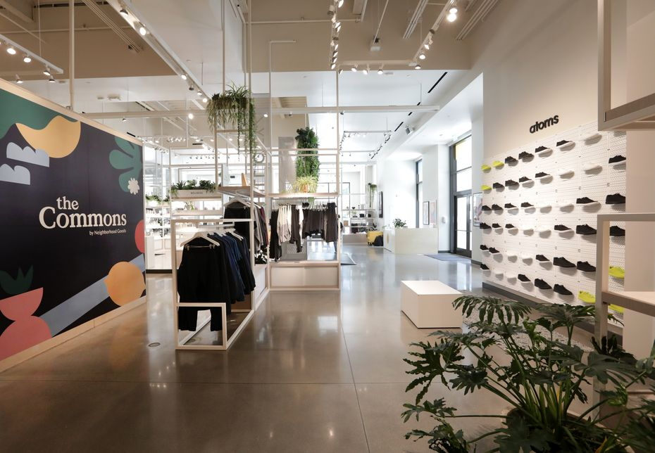 Dallas-based Neighborhood Goods' first store is in Legacy West. Two more have opened in Austin and Manhattan.