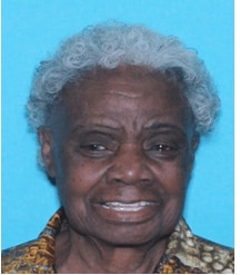 Lurlene Terrell, 91, was last seen in the 8600 block of Hanford Drive on Oct. 26, 2020.