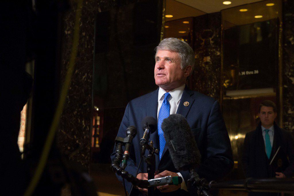 Rep. Michael McCaul, R-Austin, will return to Congress, where he serves as the top Republican on the House Foreign Affairs Committee.