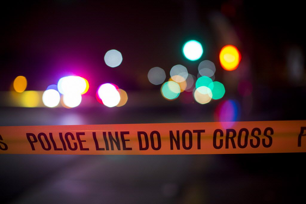 Officers were called about 10:50 p.m. to the 100 block of Walton Street, near Main Street, where a 33-year-old man had been shot.