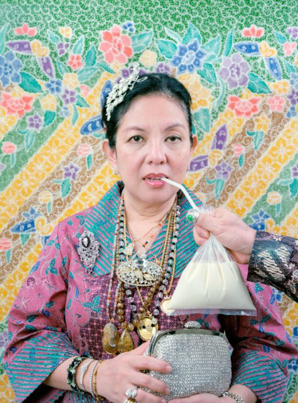 """Leonard Suryajaya's """"Mom With All of the Jewelries She Bought Herself With Her Own Money"""" is part of the """"Dispossessed"""" show during PhotoSummer 2016 in New Mexico.The exhibition, presented by CENTER and the Santa Fe University of Art & Design, opens June 17 at the university."""