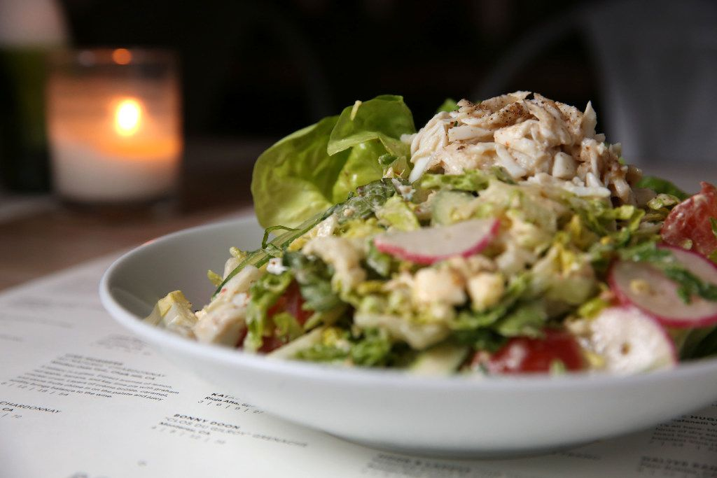 Sixty Vines' crab Louie