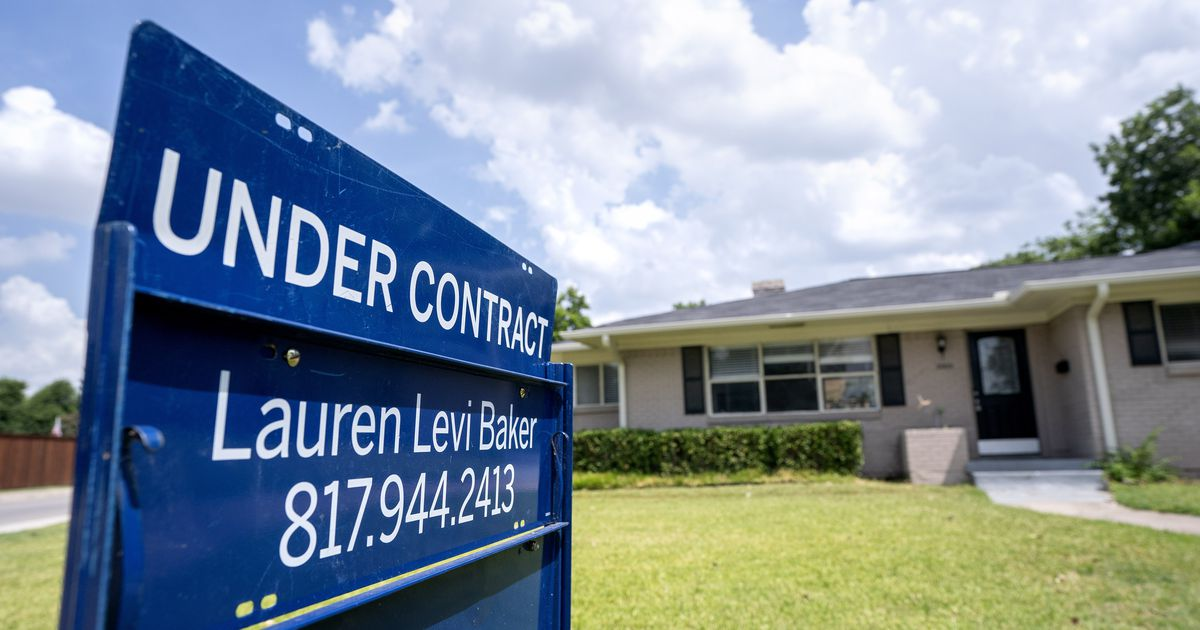 D-FW homebuyers can thank lower mortgage rates