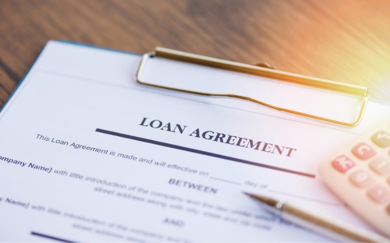 When loaning money to a family member, make sure there's a promissory note.