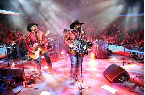 Intocable durante un concierto en el Far West, de Dallas