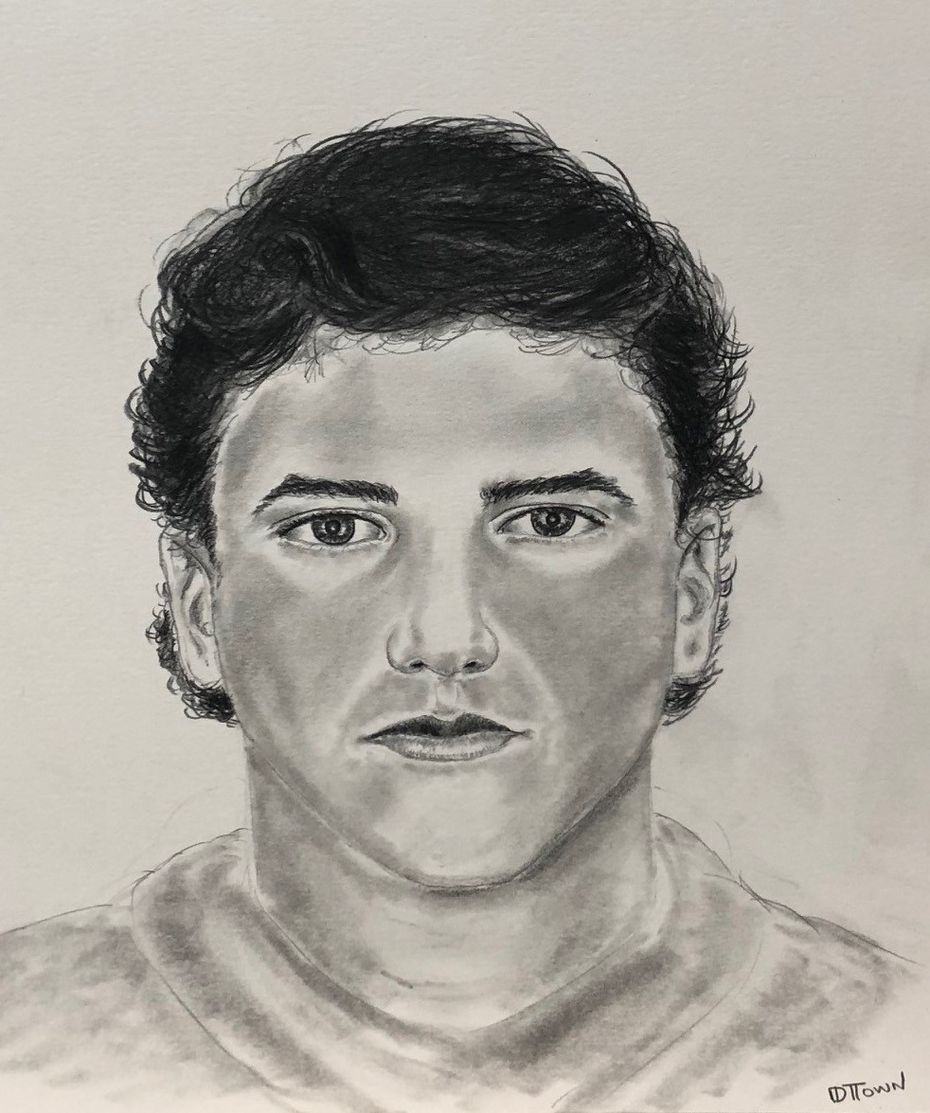 Addison police wish to speak with the man depicted in this sketch about the July 1 slaying of Joan Mulcahy, 82, at the Communities of Bent Tree Apartments.