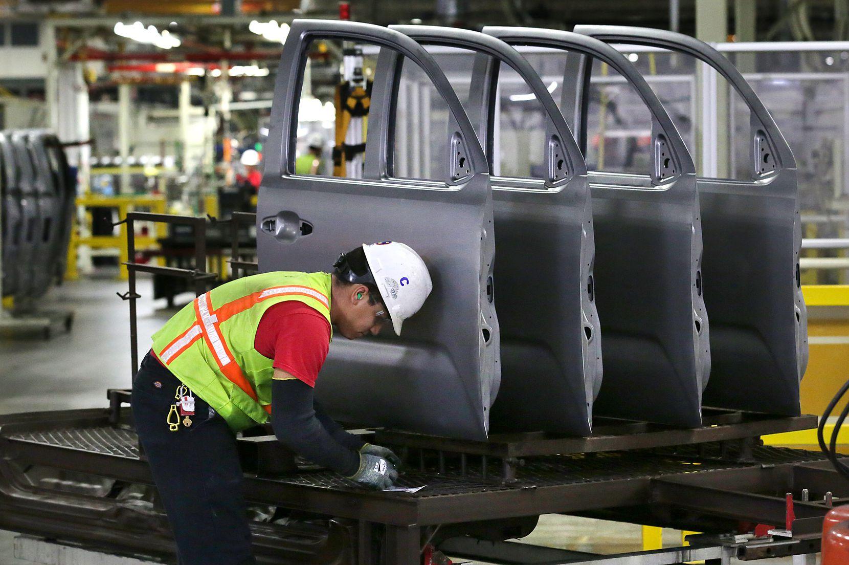 Toyota has slowed production of Tundra trucks at its plant near San Antonio.