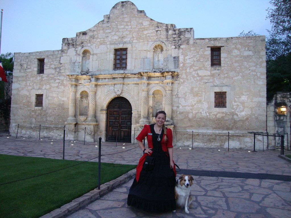 You can take ghost tours led by companies such as Sisters Grimm year-round in San Antonio.