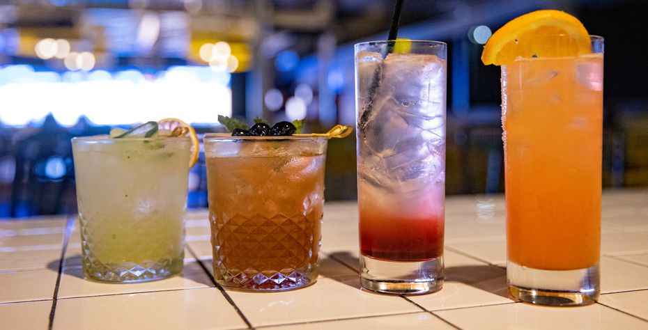 Cocktails at The Sporting Club include: Habanero Refresca, Winner's Luck, King Ranch and the Hunting Dog.