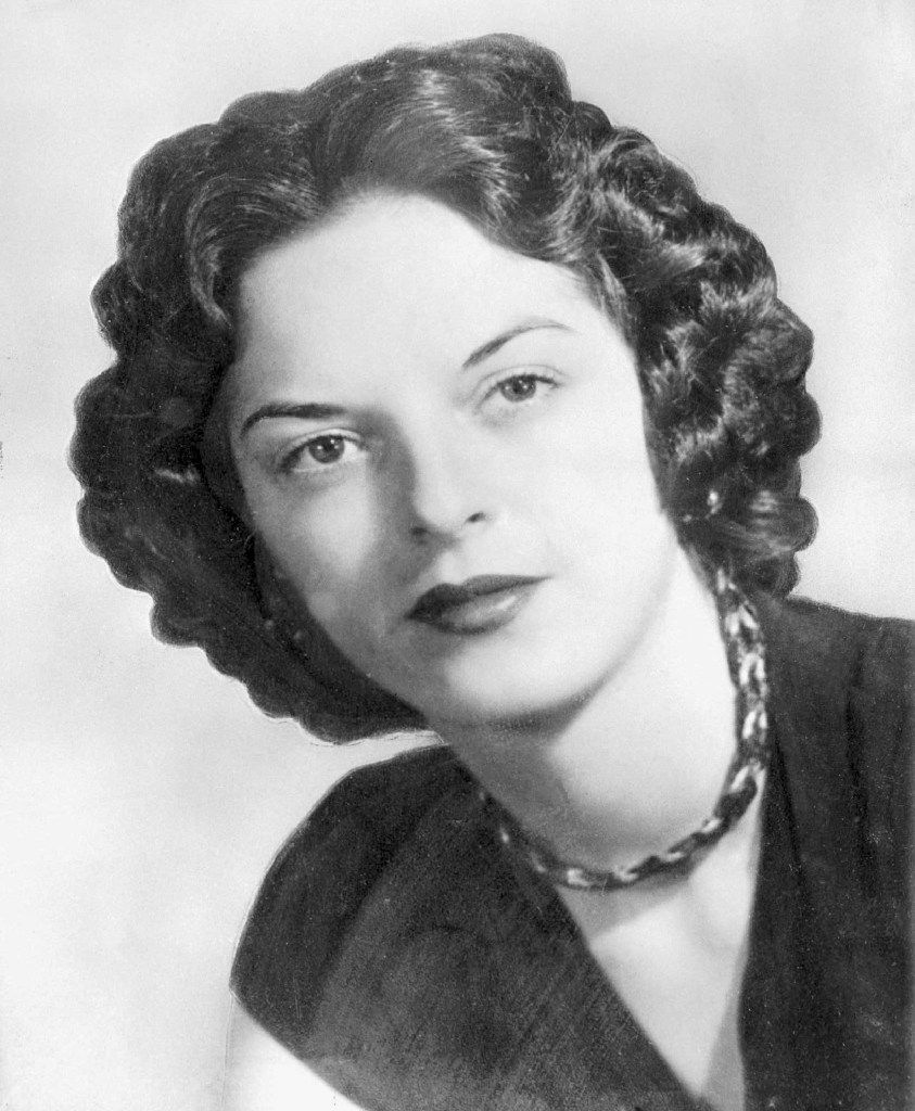 Carolyn Bryant Donham, in this 1955 photo, was at the center of the Emmett Till case. She has acknowledged that she falsely testified he made physical and verbal threats, according to a new book by Timothy B. Tyson.
