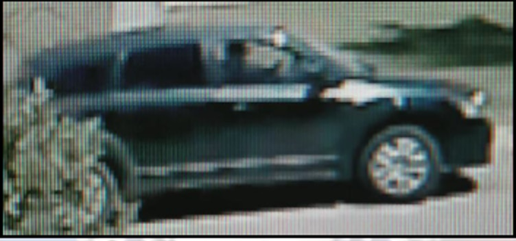 Police released this image of an SUV whose driver was involved in the shooting.