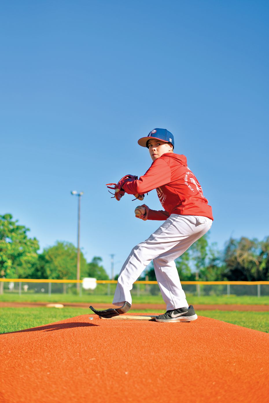 Austin is an avid athlete, but his traumatic injury didn't deter him from pursuing his love for sports.