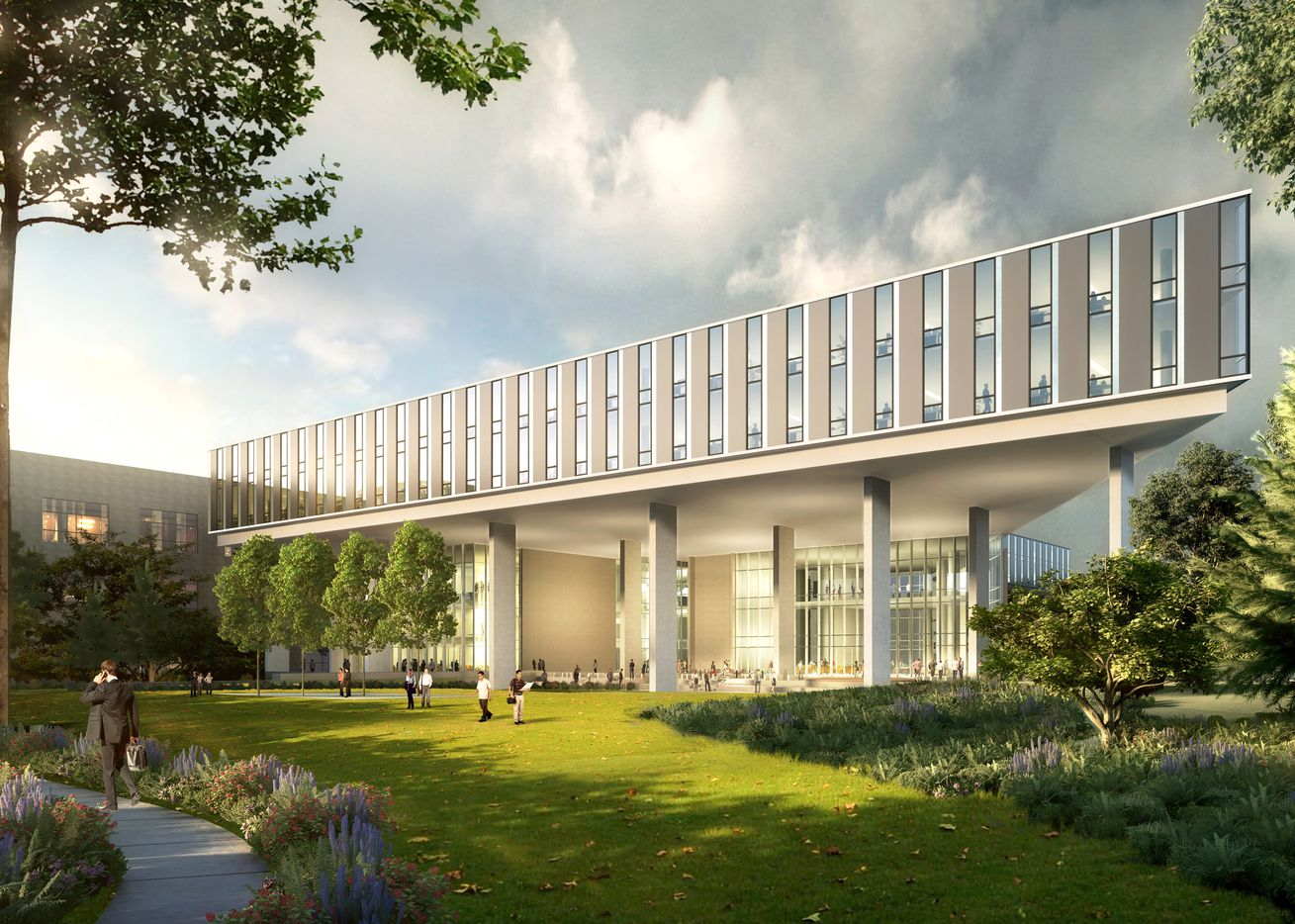 Architects Perkins + Will and Corgan designed the new Baylor Scott & White campus.