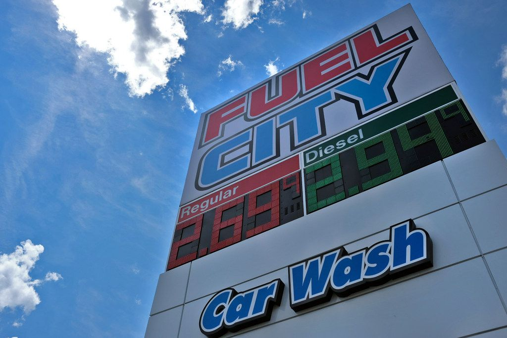 Fuel City on Friday, September 7, 2018 in Mesquite, Texas. (Ryan Michalesko/The Dallas Morning News)