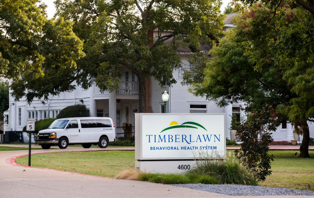 Timberlawn psychiatric hospital closed on Feb. 16, 2018.