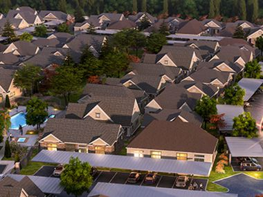 NexMetro Communities plans to build a project with more than 200 rental homes in the new Stoneridge community.