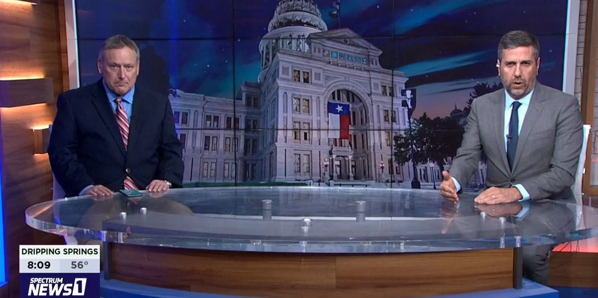 "A Joe Biden win isn't necessarily bad news for Texas Gov. Greg Abbott and Lt. Gov. Dan Patrick as they look to 2022, say Democratic analyst Harold Cook (left) and Republican analyst Ted Delisi. Cook and Delisi discuss Texas politics regularly on ""Capital Tonight"" on the Spectrum Texas cable TV channels."