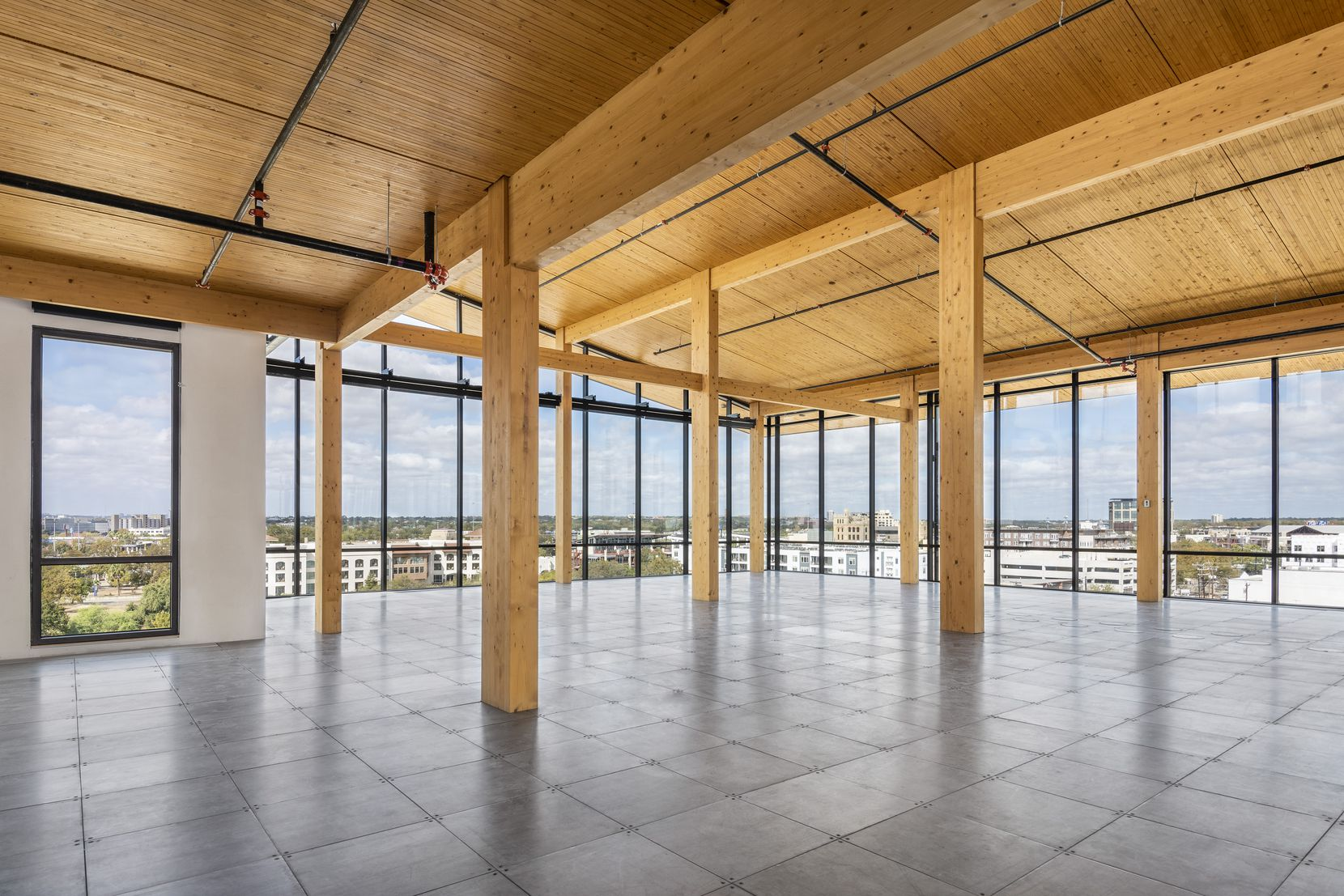 The interior of a new San Antonio office building designed by Dallas architect BOKA Powell.
