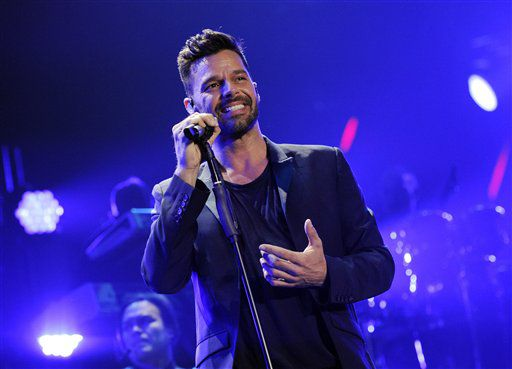 . Ricky Martin (Chris Pizzello/Invision/AP/Chris Pizzello)