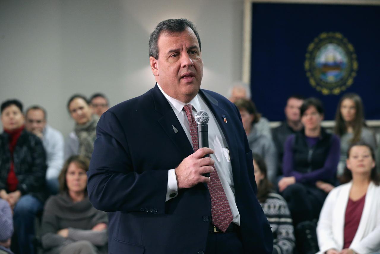 El exgobernador de Nueva Jersey canceló eventos de campaña en South Carolina. Se anticipa que pondrá el fin a su campaña presidencial. (GETTY IMAGES/CHIP SOMEDEVILLA)