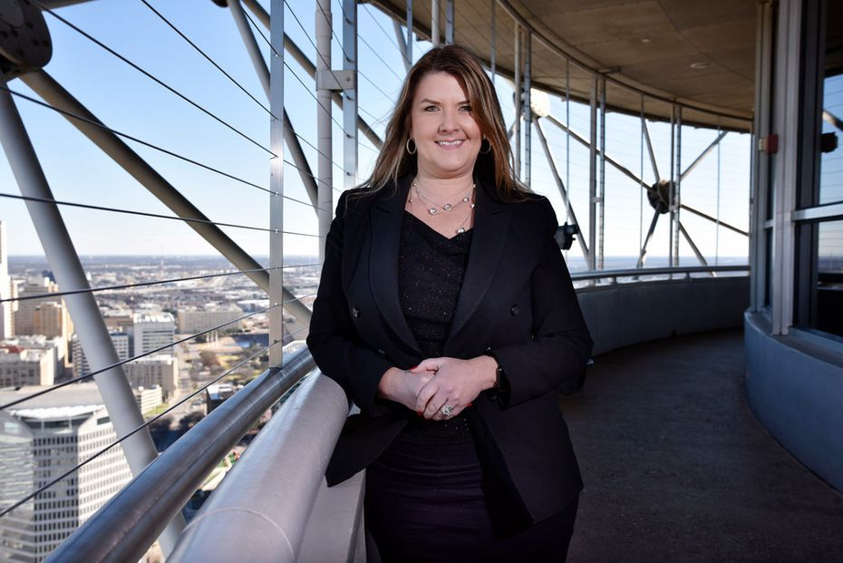 """Dusti Groskreutz, president of Reunion Tower Operations Co., hopes the show will be the """"biggest in the Central time zone."""""""
