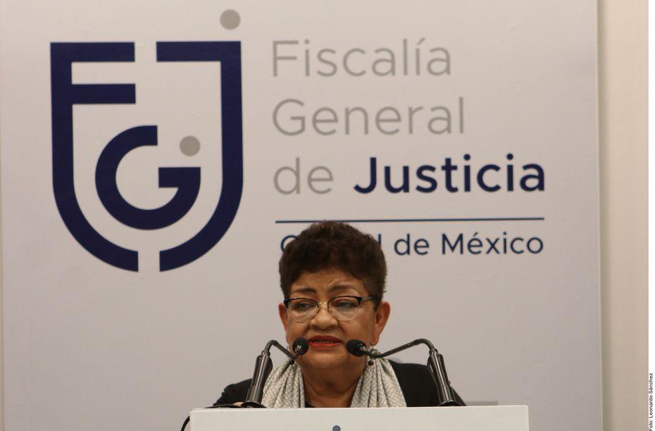"""""""(El abuso sexual) está en los resultados de la necropsia"""", señaló Ernestina Godoy, en conferencia de prensa."""