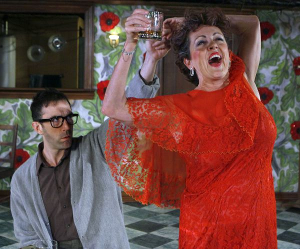 "Gregory Lush and Mary Lang are members of a top-notch cast in Undermain Theatre's production of ""The Birthday Party."""