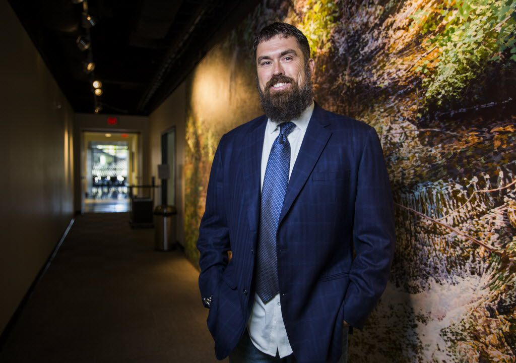 Morgan Luttrell, a former Navy SEAL and twin brother of 'Lone Survivor' author Marcus Luttrell, poses for a portrait at the Center for BrainHealth at the University of Texas at Dallas. Morgan Luttrell on a doctoral track at UTD, studying to become a cognitive scientist in order to treat veterans suffering from traumatic brain injury or post-traumatic stress disorder, the most prevalent combat injuries from the wars in Iraq and Afghanistan.