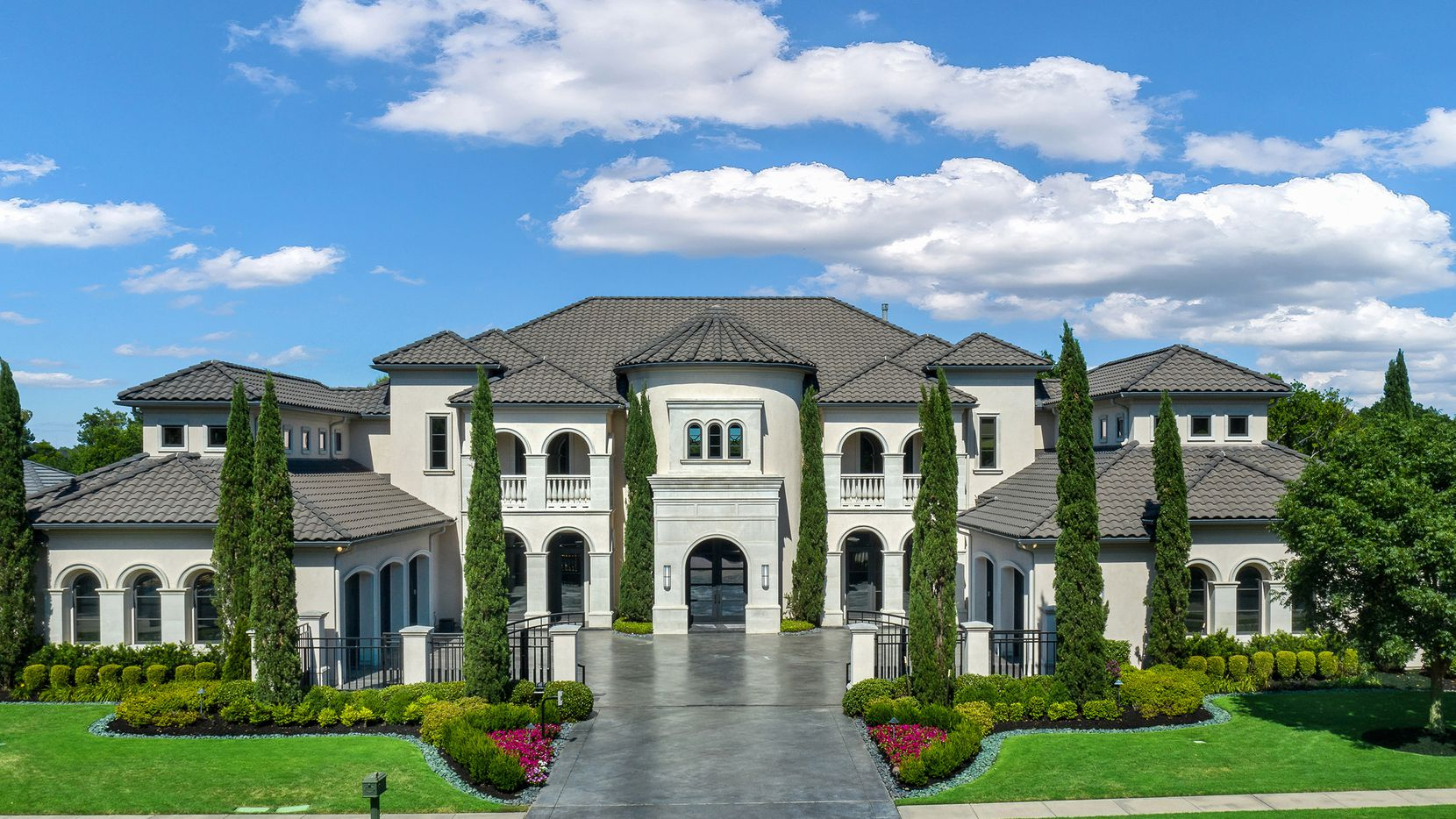 The 0.71-acre estate at 414 Lakeway Drive in Allen is offered at $2,745,000.