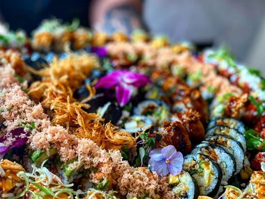 Thi Tran's new restaurant, Omakase To Go, has opened in Asia Times Square in Grand Prairie.