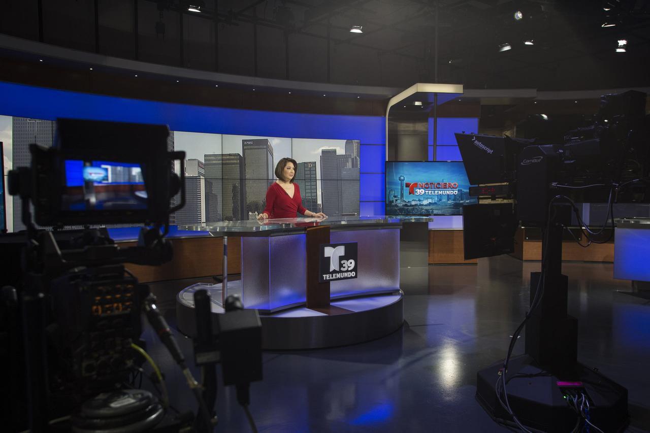 Norma García, del noticiero de Telemundo en Fort Worth. (ESPECIAL PARA AL DÍA/MARÍA OLIVAS)
