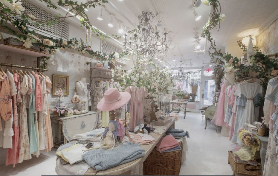 LoveShackFancy will open a pop-up on March 10, 2020 inside the Market at Highland Park Village. This store opened in December in Palm Beach, Fla.