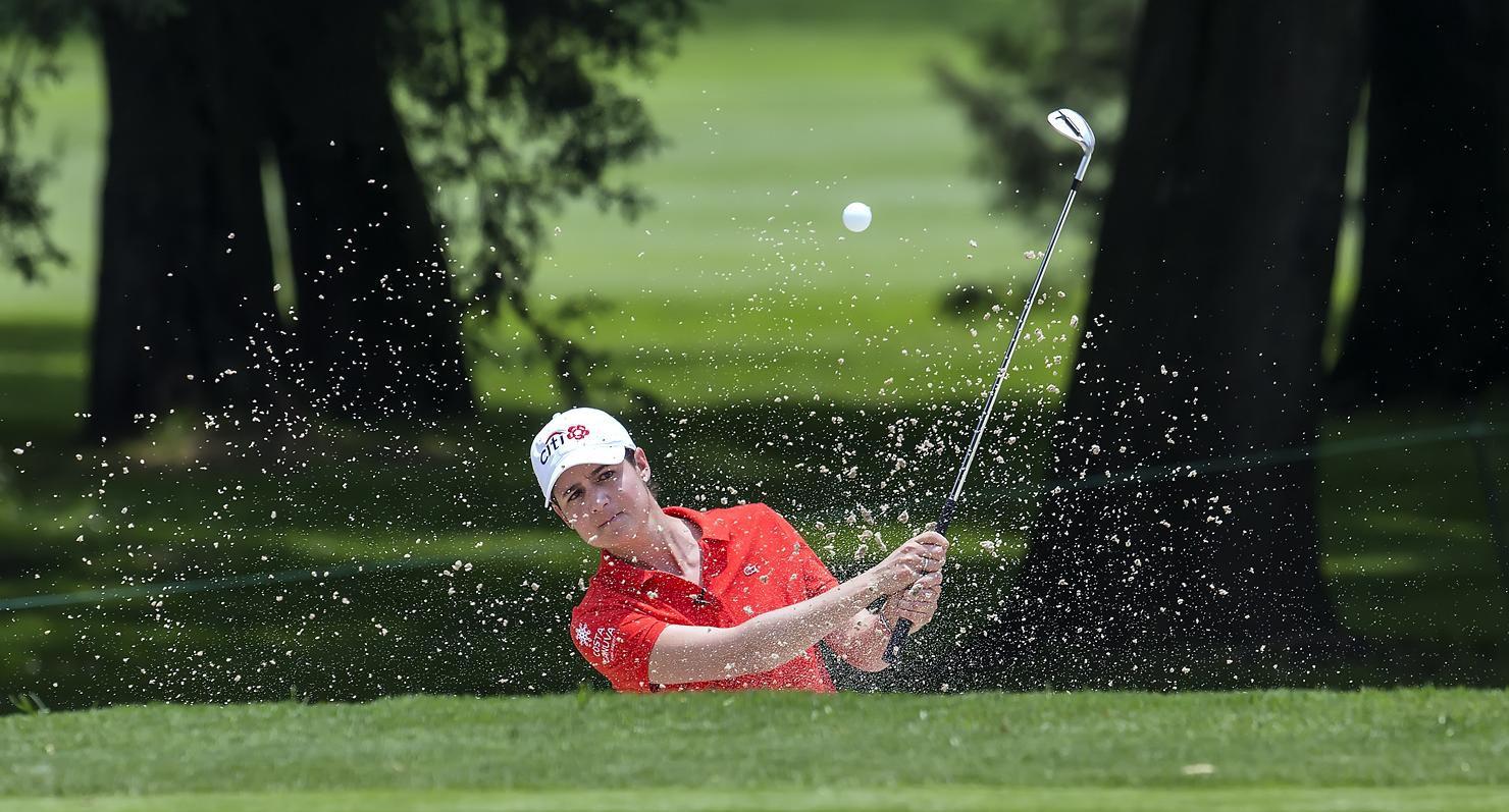 Lorena Ochoa fue la primera clasificada del ranking de la LPGA por casi tres años.(AGENCIA REFORMA)