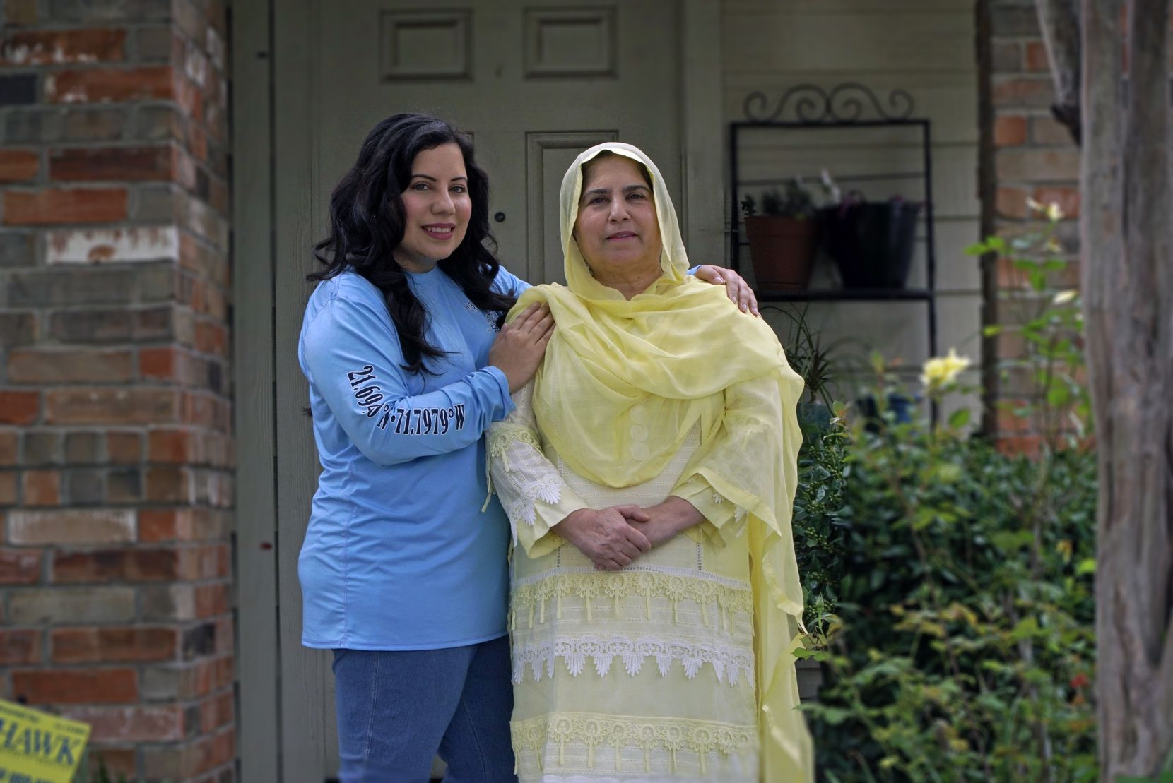 Aisha U-Kiu, an attorney based in Irving, and her mother Surriya U-Kiu, both plan to use this Ramadan to read more of the Quran.  (Lawrence Jenkins/Special Contributor)
