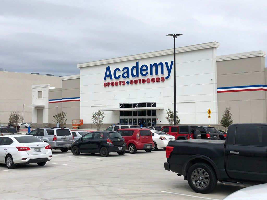 Academy Sports + Outdoors is one of the first stores to open in the new High Point Shopping Center at the northwest corner of E. Northwest Highway and Abrams Road in Dallas. The store opened on Oct. 19, 2018.