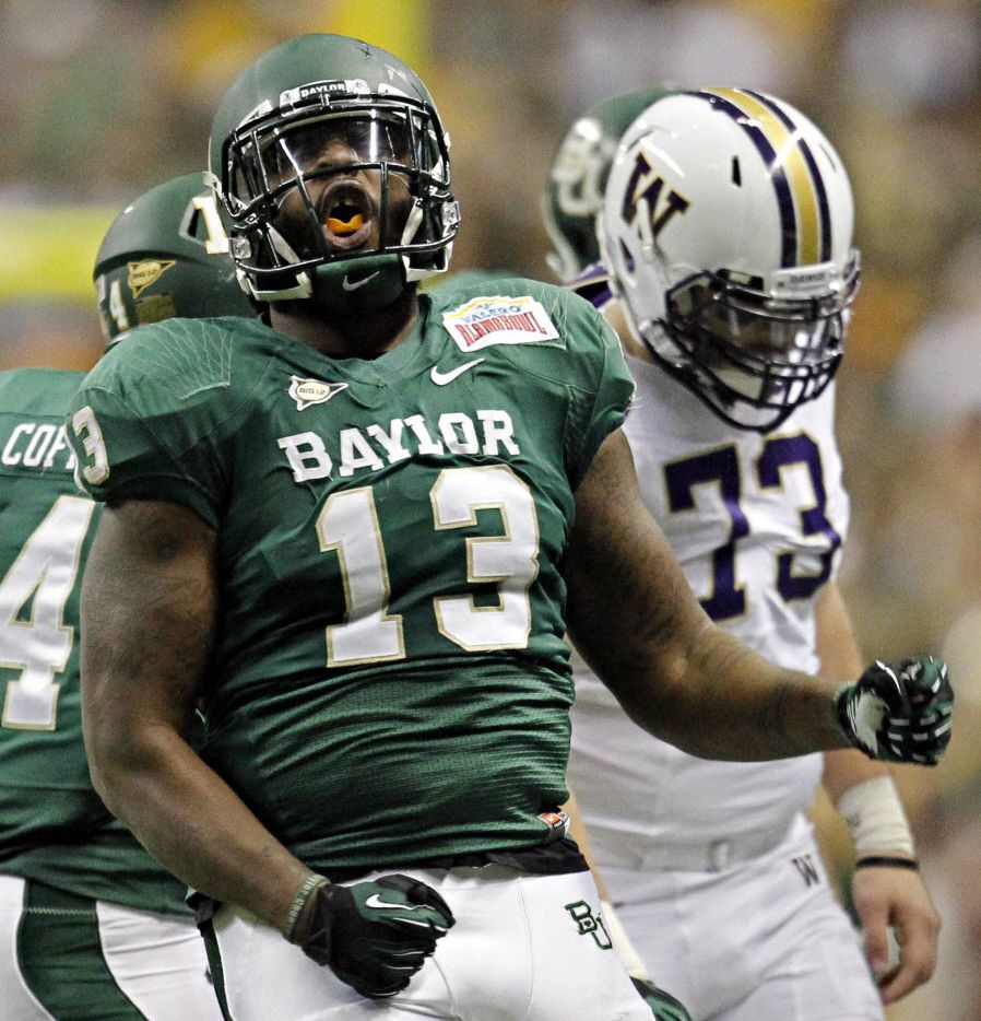 Position: Defensive line/ Key returnees: sophomore Terrance Lloyd, sophomore Tevin Elliot, junior Gary Mason Jr., sophomore Chris McAllister, junior Nick Johnson, junior Kaeron Johnson/ Key additions: Trevor Clemons-Vladez, Suleiman Masumbuko, Donald Bryant/ Key losses: Tracy Robertson, Nicolas Jean-Baptiste/ 2011 recap: The defense gave up the second-worst total yardage in the Big 12 last season at 488.5 yards per game. The defensive line however did have a few bright spots. Senior Nicolas Jean-Baptiste finished the year with 36 total tackles, 8.5 of those for a loss along with four sacks. Tracy Robertson led the team with 4.5 sacks while accumulating 23 total tackles.